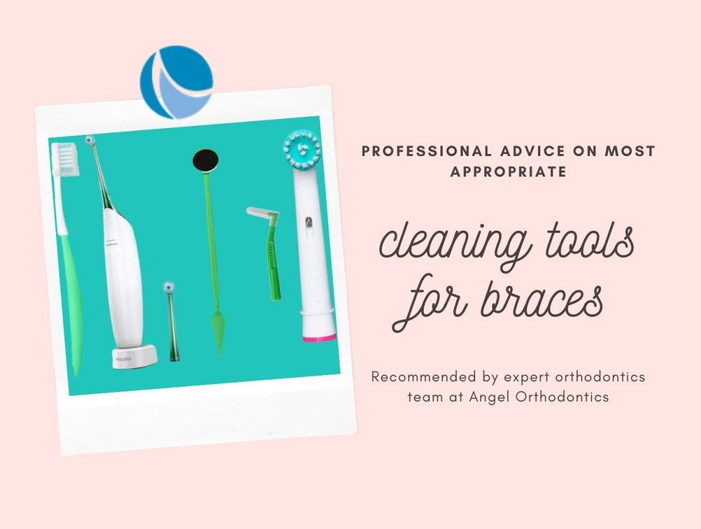 cleaning tools for brace